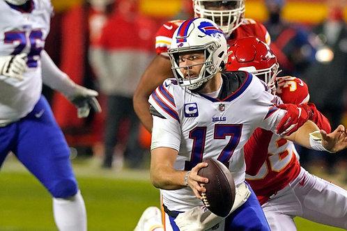 2020 Buffalo Bills AFC Championship Season on DVD - Josh Allen