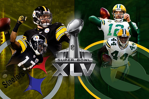 Super Bowl XLV Ultimate 12 DVD Edition Green Bay Packers vs Pittsburgh Steelers
