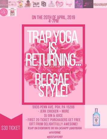 Trap Yoga + Jerk Chicken_ Reggae Edition