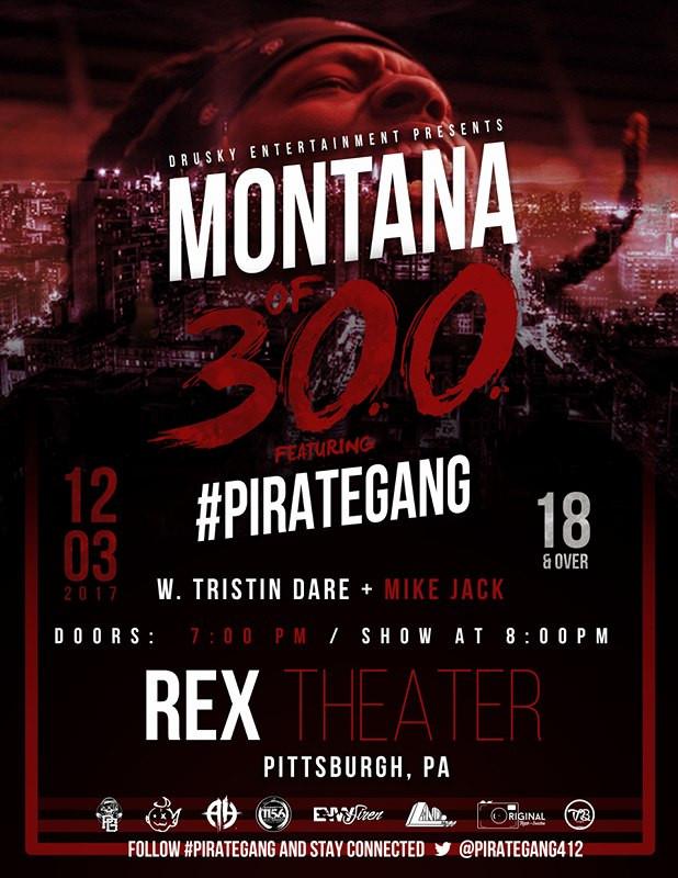 #PirateGang @ Montana Of 300