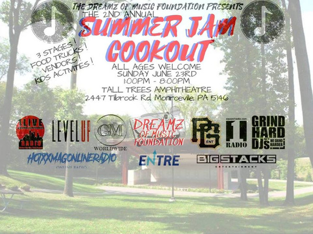 The Dreamz of Music Foundation x Summer Jam Cookout