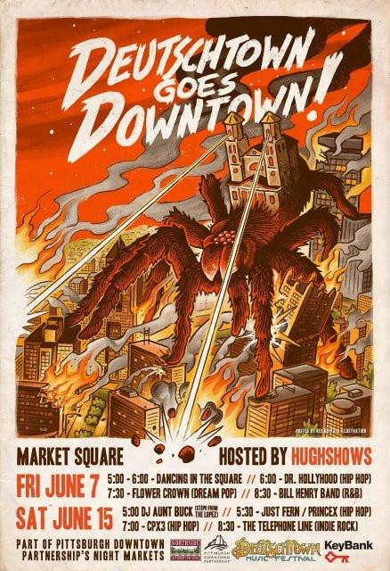 Deutschtown Goes Downtown