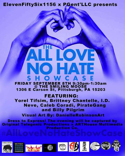 All Love no hate showcase
