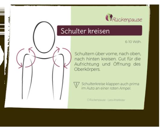 Schulter kreisen