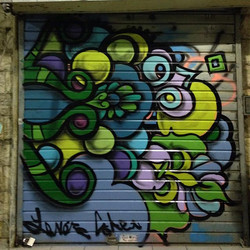 #mural #streetArt #funky #middleeast #jerusalem I love my job.jpg.jpg.jpg