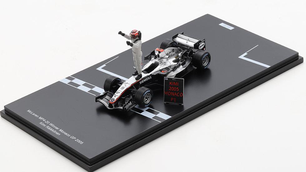 1/43 McLaren MP4-20 GP Monaco Kimi Raikkonen