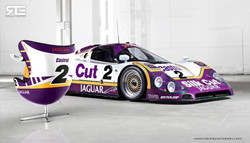 racing-emotion-art-egg-jaguar-xjr-15-by-benoit-fraylon