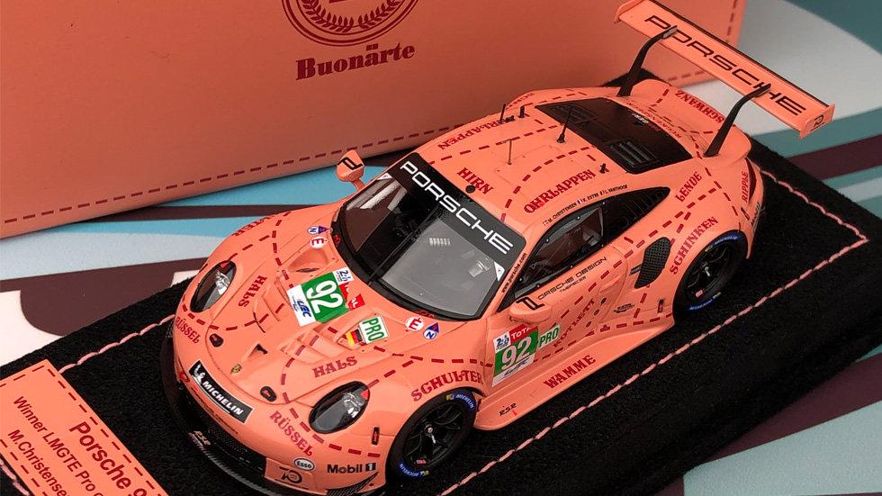 1:43 Porsche 911 RSR 2018 LE MANS PINK PIG