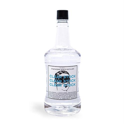 Clear Stock Spirit   96% alc. vol.   1.75 Litres