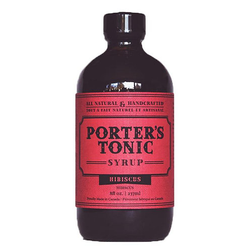 Porter's Hibiscus Tonic Syrup