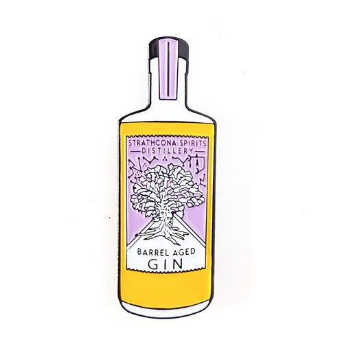 Barrel Aged Gin Pin