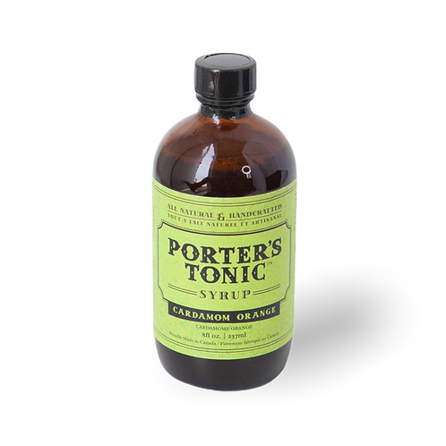 Porter's Cardamom Orange Tonic Syrup