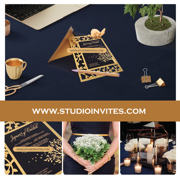 GOLD TREE INVITATION - STUDIO INVITES.jp