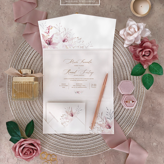 TRIFOLD DUSTY PINK INVITATION 2 - STUDIO
