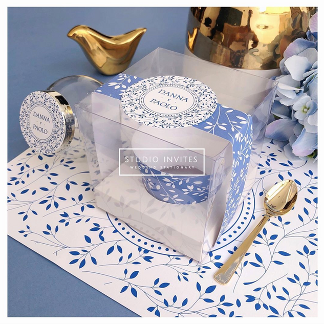 MEDITTERRANEAN CLEAR BOX - STUDIO INVITES