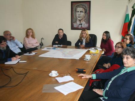"""Представяне на резултати от изследването пред администрацията на район """"Младост"""", Столична"""