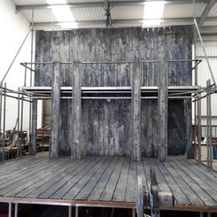 Smaller scale set for The Globe On Tour