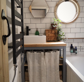The completed Bathroom.