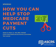 How You Can Help Stop Medicare Payment Cuts