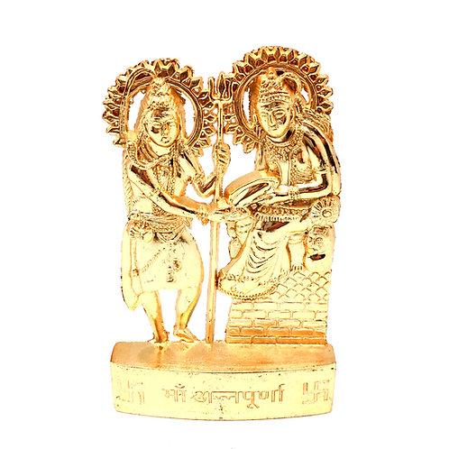 Шива и Аннапурна