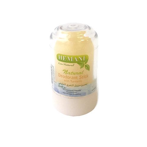 Кристальный дезодорант Hemani с куркумой