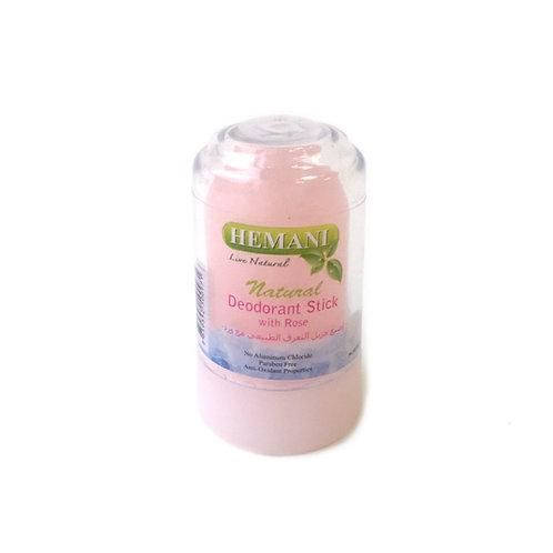Копия Кристальный дезодорант Hemani с розой