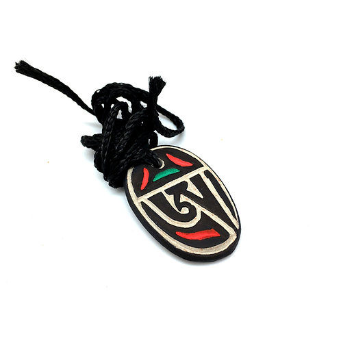 "Амулет ""Тибетский Ом"" медальон"
