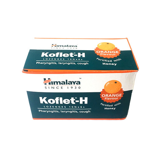 Леденцы Кофлет (Koflet-H) с апельсином (Хималая)