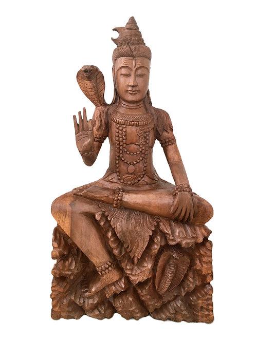 Шива из дерева суар (80 см)