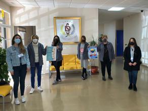 Autismo Ceuta visita los centros escolares de la ciudad para promocionar personalmente la campaña de