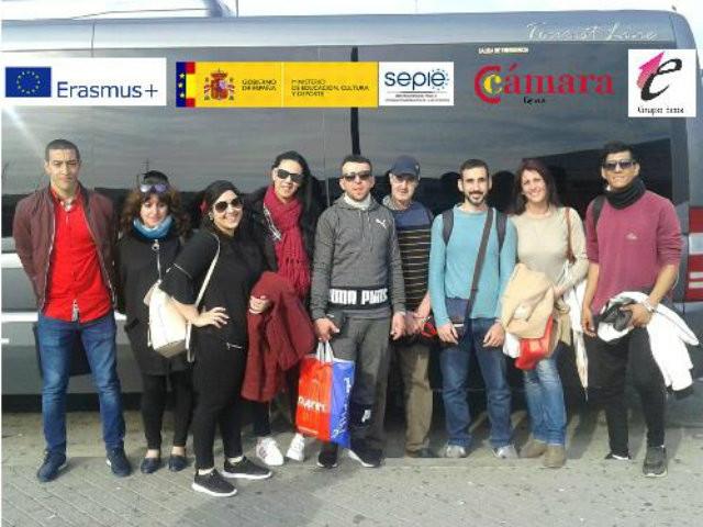 Los primeros participantes del programa ERASMUS + ponen rumbo a Portugal
