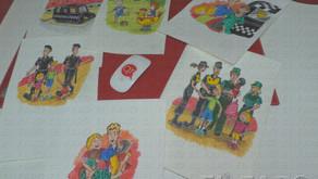 """Ilustraciones """"qreativas"""" para no perderse"""