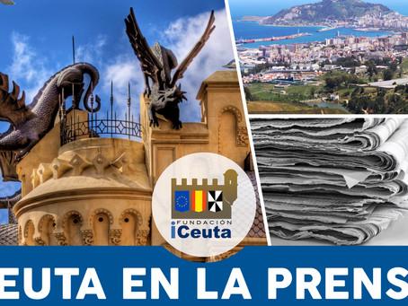Ceuta en la prensa julio de 2021