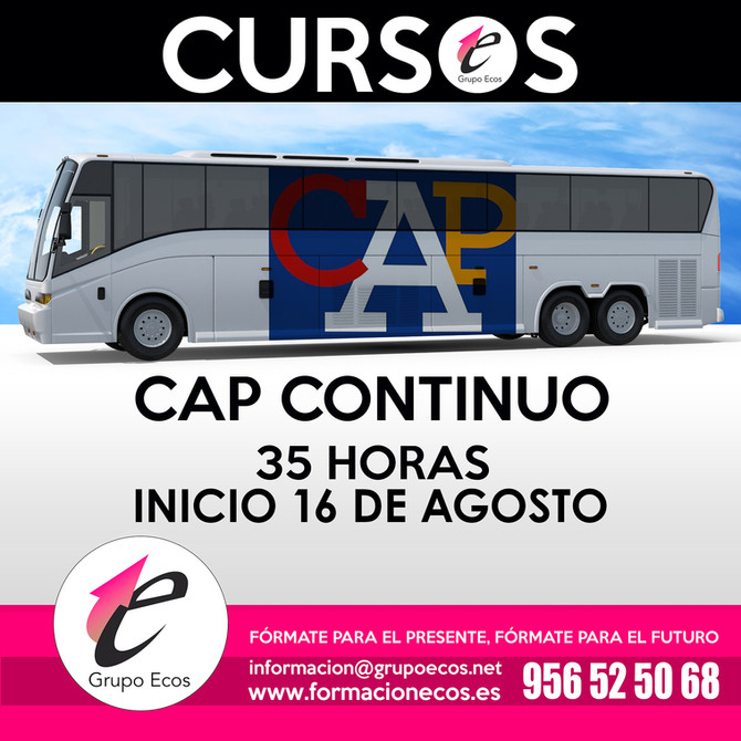 CAP CONTINUO - 16 AGOSTO