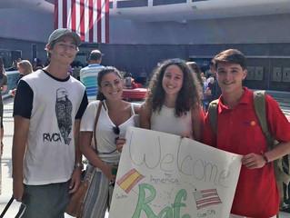 El Rotary Club de Ceuta ha realizado el intercambio de un año completo a EEUU de un estudiante de nu