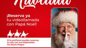 Papá Noel y los Reyes Magos quieren llamarte por Navidad