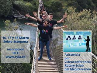 Rotary Club de Ceuta patrocina con una beca Ryla a un joven Ceutí.