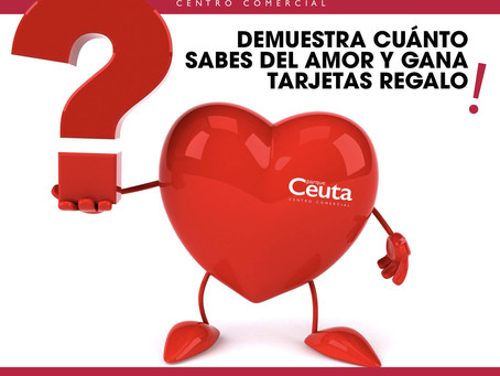 San Valentín en CC Parque Ceuta