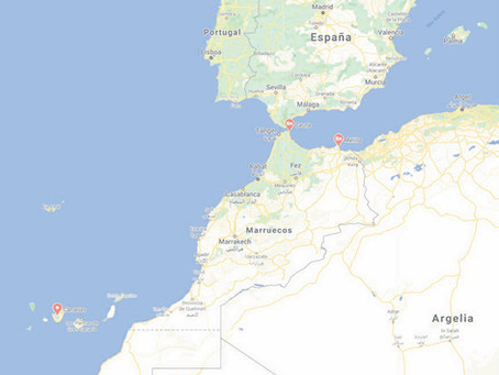 Ceuta, Melilla, Canarias y el Sáhara