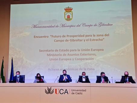 """La CECE, en el encuentro """"Futuro de Prosperidad para la zona del Campo de Gibraltar y el Estrecho"""""""