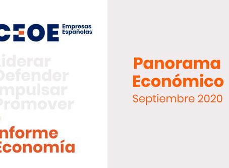 CEOE | Panoráma económico septiembre 2020
