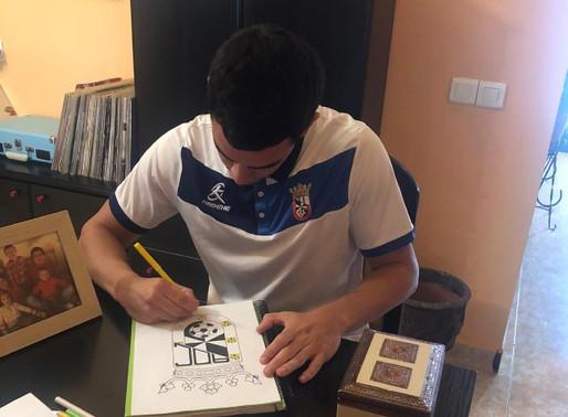 La AD Ceuta FC, gracias a Qreativos, lanza un reto para los más peques de la casa