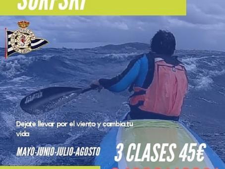 INICIACIÓN SURFSKI EN EL CAS