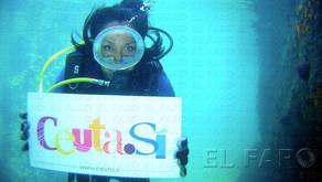 Ceuta como paraíso para el turista en un spot producido de manera privada