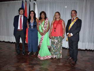 Kumari Namwani, nueva presidenta del Rotary Club de Ceuta