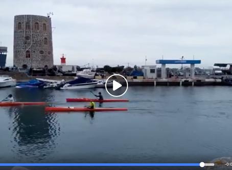 Desde Francia a Ceuta con African Surfski Center y el CAS