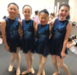 Awesome foursome #ballet #dance #dancers