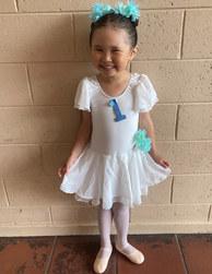 First ballet exam!