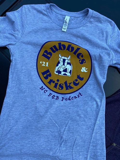 Bubbles & Brisket 2021 T-Shirt