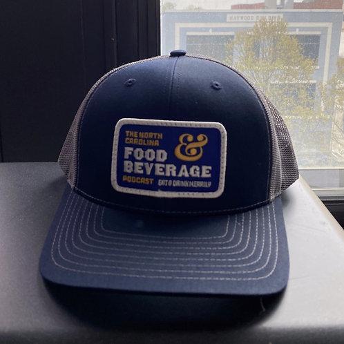 #5 Trucker Hat Navy/Charcoal